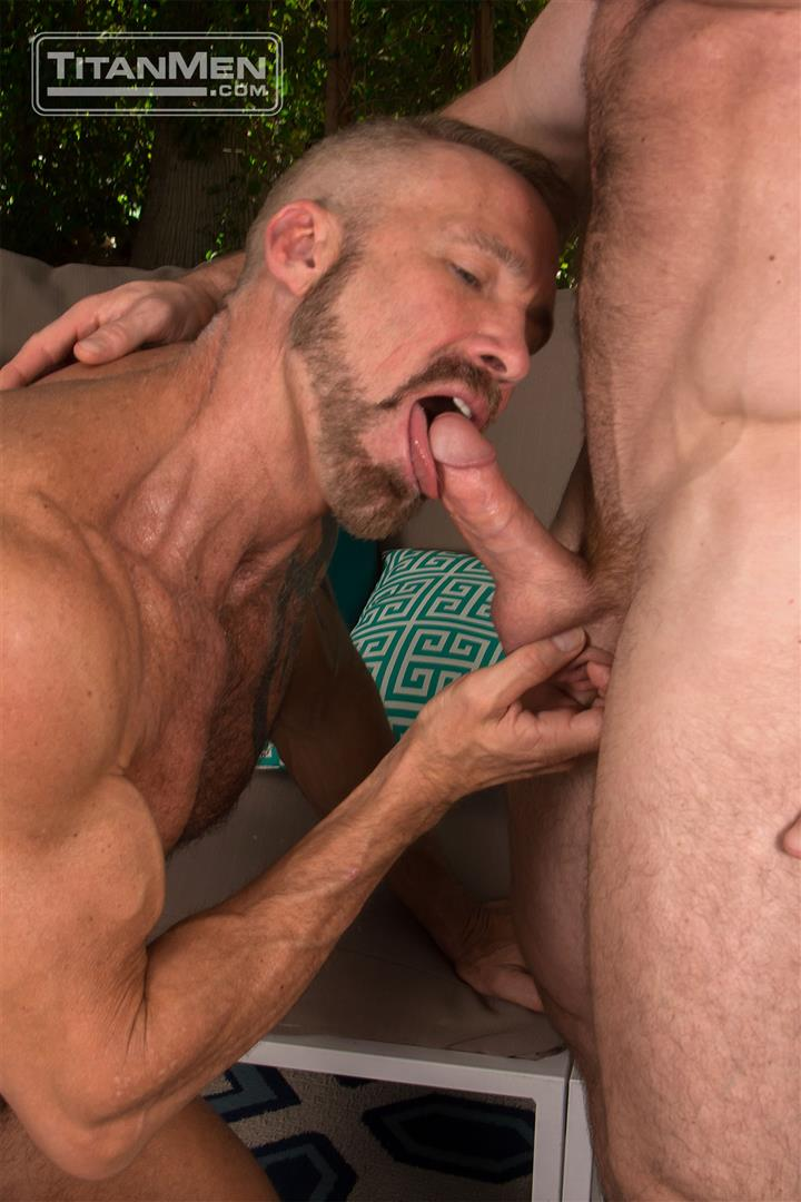 Titan Men Dallas Steele and Liam Knox Hairy Muscle Daddies Fucking 18 Thick Cock Hairy Muscle Hunks Dallas Steele and Liam Knox Fucking