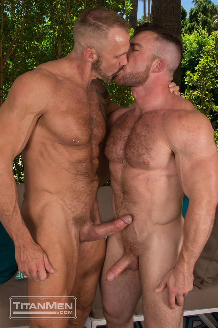 Titan Men Dallas Steele and Liam Knox Hairy Muscle Daddies Fucking 25 Thick Cock Hairy Muscle Hunks Dallas Steele and Liam Knox Fucking