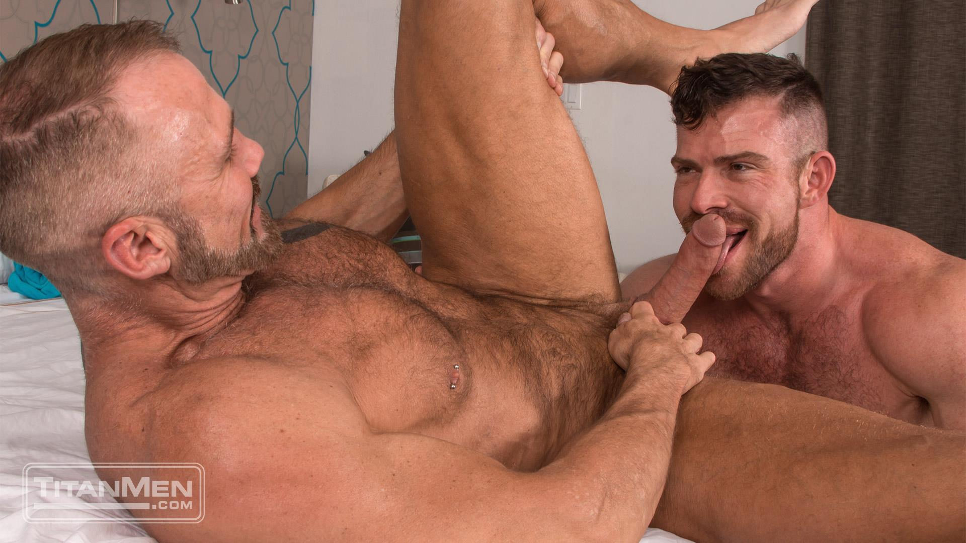 Titan-Men-Dallas-Steele-and-Liam-Knox-Hairy-Muscle-Daddies-Fucking-46 Thick Cock Hairy Muscle Hunks Dallas Steele and Liam Knox Fucking