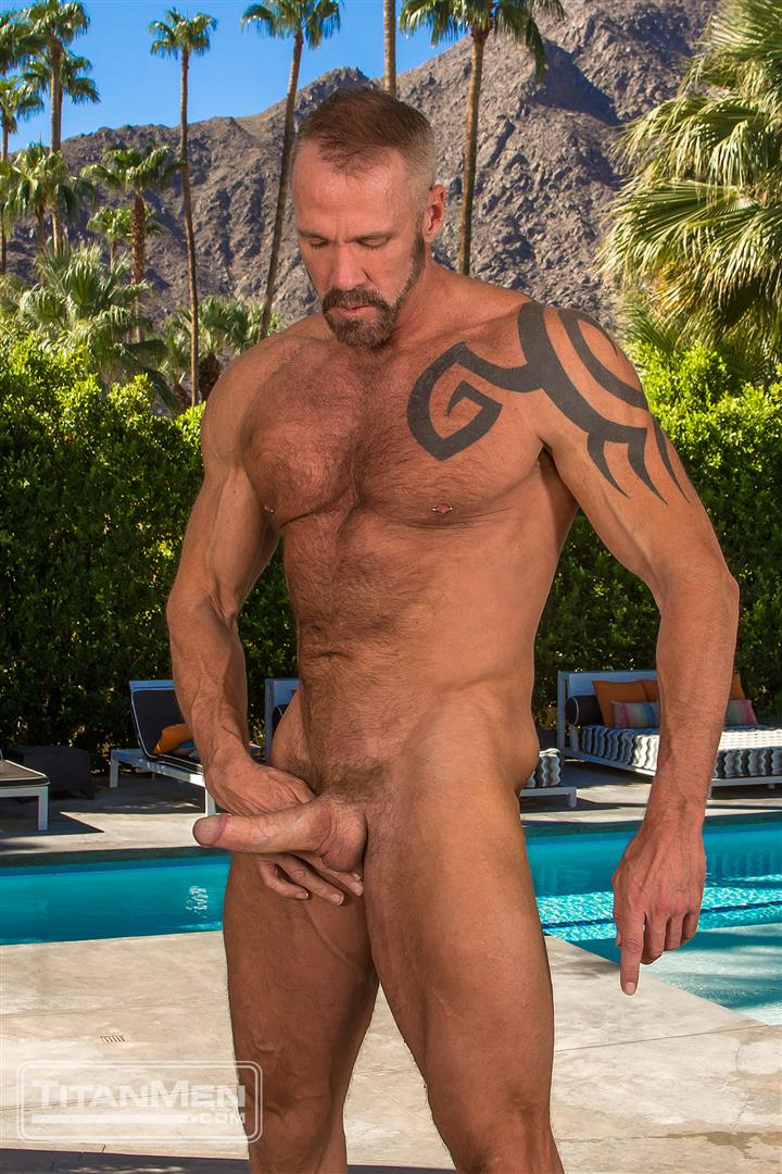 Titan Men Dallas Steele and Liam Knox Hairy Muscle Daddies Fucking 60 Thick Cock Hairy Muscle Hunks Dallas Steele and Liam Knox Fucking