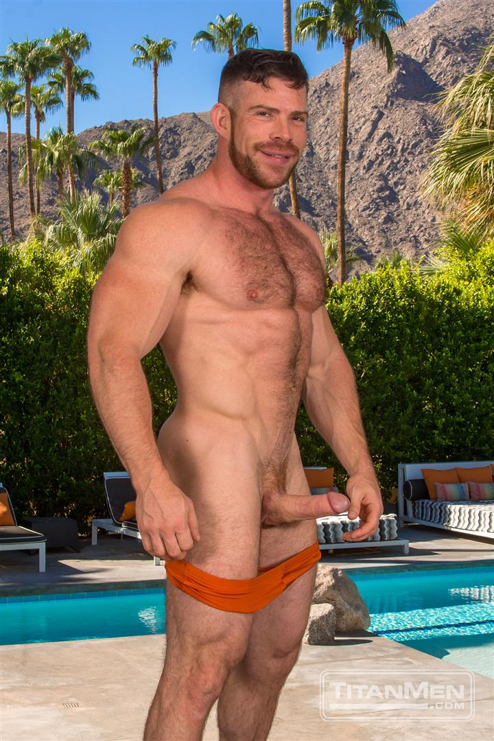 Titan Men Dallas Steele and Liam Knox Hairy Muscle Daddies Fucking 73 Thick Cock Hairy Muscle Hunks Dallas Steele and Liam Knox Fucking