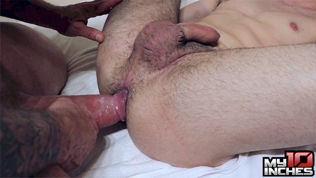 My 10 Inches Rocco Steele and Rafa Marco Big Cock Bareback Sex 12 Muscle Daddy Rocco Steele Breeds A Hot Spanish Ass