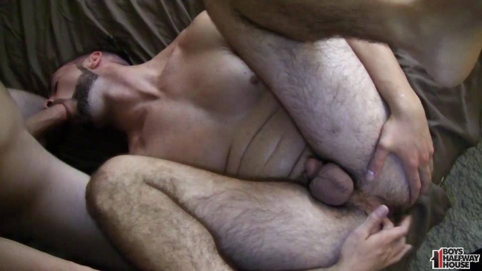 Boys-Halfway-House-Ash-McCoy-Straight-Boy-Takes-2-Cocks-Raw-22 Delinquent Straight Boy Forced To Take Two Raw Cocks Up The Ass