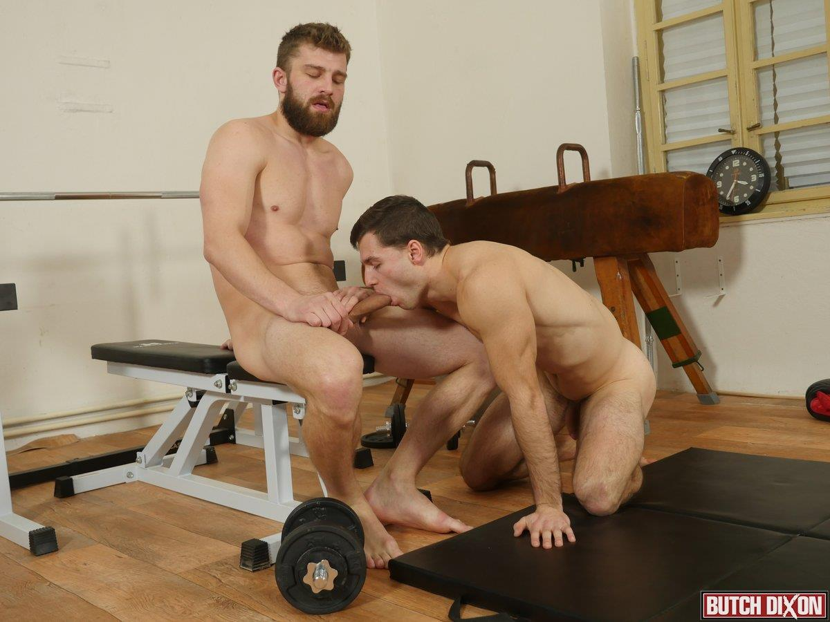 Butch-Dixon-Nikol-Monak-and-Tomas-Salek-Bareback-Jocks-Gay-Sex-06 My Workout Buddy Stuck His Raw Uncut Cock Up My Ass