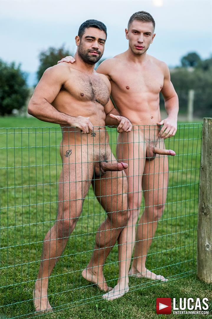 Lucas-Entertainment-Bogdan-Gromovand-and-Wagner-Vittoria-Gay-Russian-Bareback-Sex-07 Hairy Muscle Hunk Wagner Vittoria Barebacks Sexy Russian Bogdan Gromov