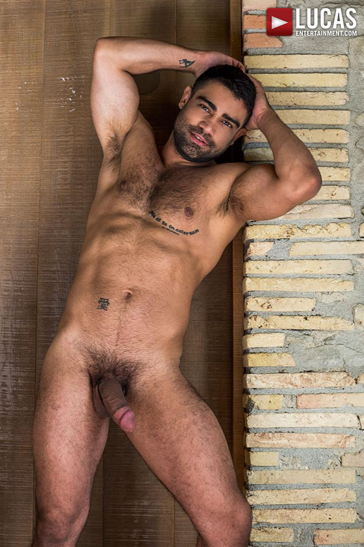 Lucas-Entertainment-Bogdan-Gromovand-and-Wagner-Vittoria-Gay-Russian-Bareback-Sex-29 Hairy Muscle Hunk Wagner Vittoria Barebacks Sexy Russian Bogdan Gromov