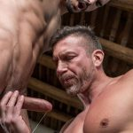 Lucas-Entertainment-Tomas-Brand-and-Aaden-Stark-Big-Uncut-Cock-Daddy-Barebacking-09-150x150 Hung Muscle Daddy Tomas Brand Barebacking Aaden Stark With His Big Uncut Dick