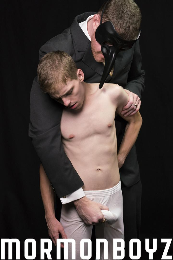 Mormon-Boyz-Older-Big-Dick-Daddy-Barebacking-Younger-Twink-Gay-Sex-Video-09 Mormon Missionary Twink Takes A Thick Daddy Cock Up The Ass Raw