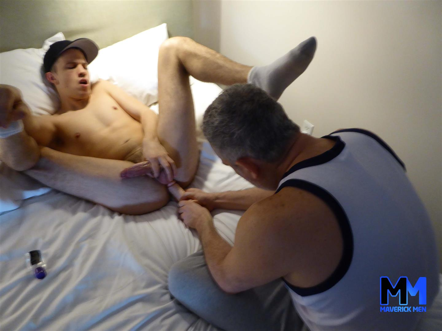 Maverick-Men-Joey-Twink-With-Hairy-Hole-Getting-Barebacked-4 The Maverick Men Cream A Young Guys Hairy Ass