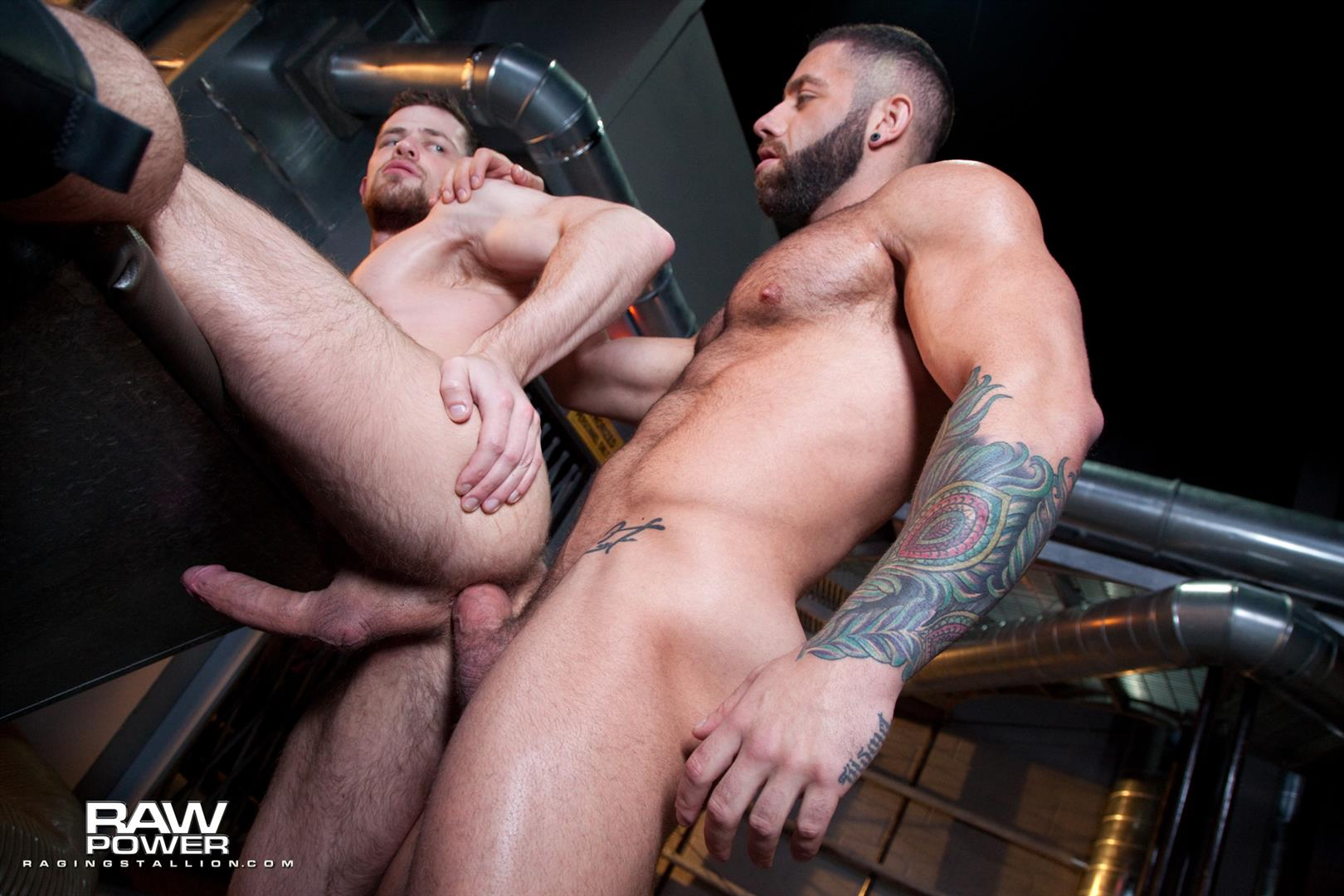 Raging-Stallion-Eddy-Ceetee-and-Kurtis-Wolfe-Big-Dick-Muscle-Hunks-Bareback-Sex-Video-12 ALERT: Raging Stallion Goes Bareback For The First Time With Eddy Ceetee and Kurtis Wolfe