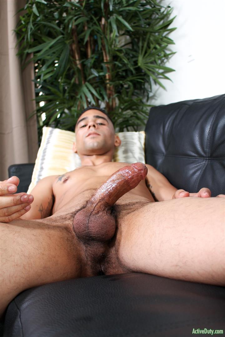 Active-Duty-Rossi-Thick-Dick-Naked-Soldier-Jerking-Off-Video-07 Thick Dick Army Soldier Jerks Out A Creamy Load Of Cum