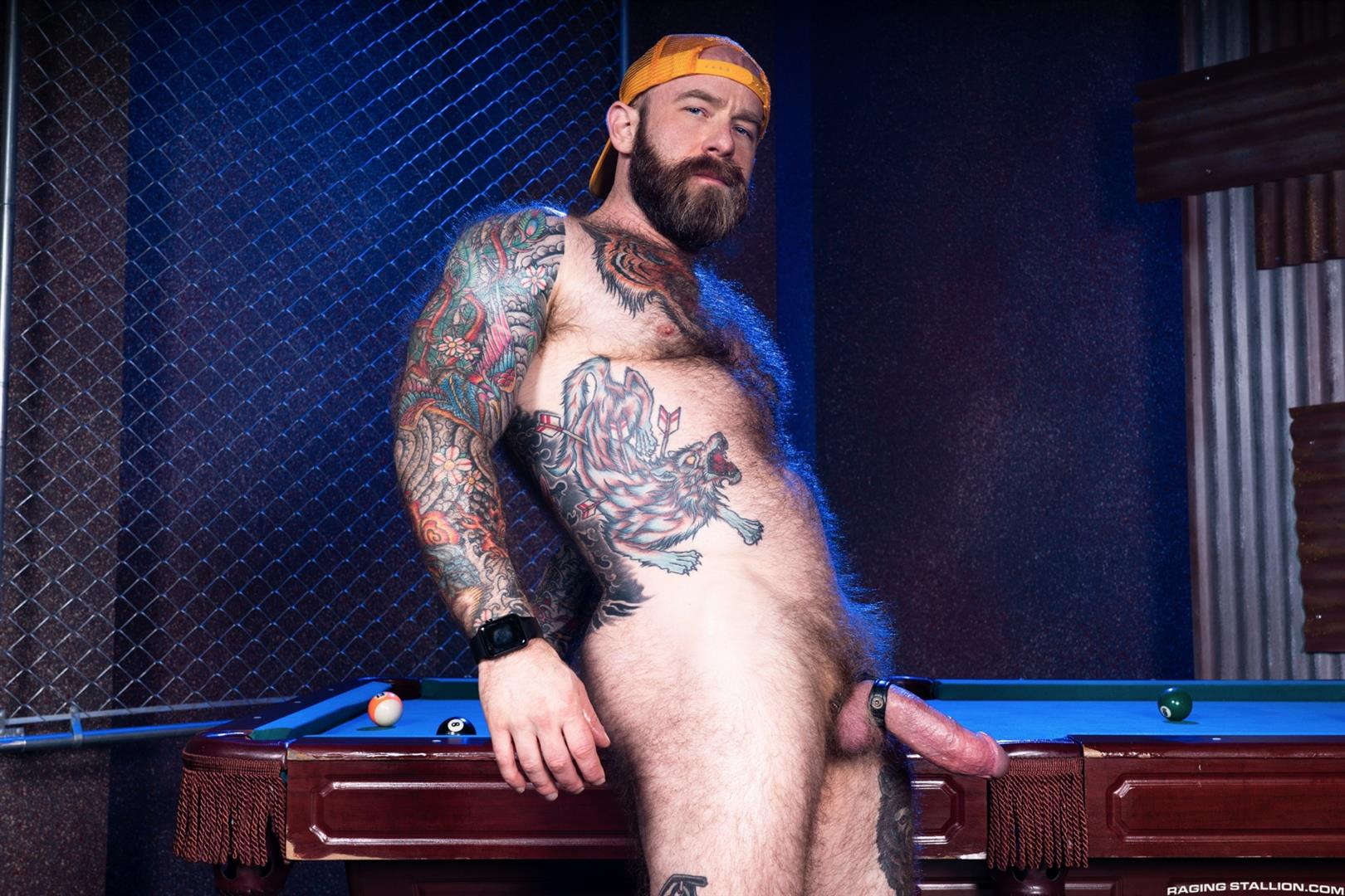 Raging-Stallion-Jay-Austin-and-Jack-Dixon-Thick-Dick-Hairy-Daddy-Getting-Cock-Sucked-06 Hairy Daddy Jack Dixon Gets His Thick Cock Sucked At A Seedy Back Bar