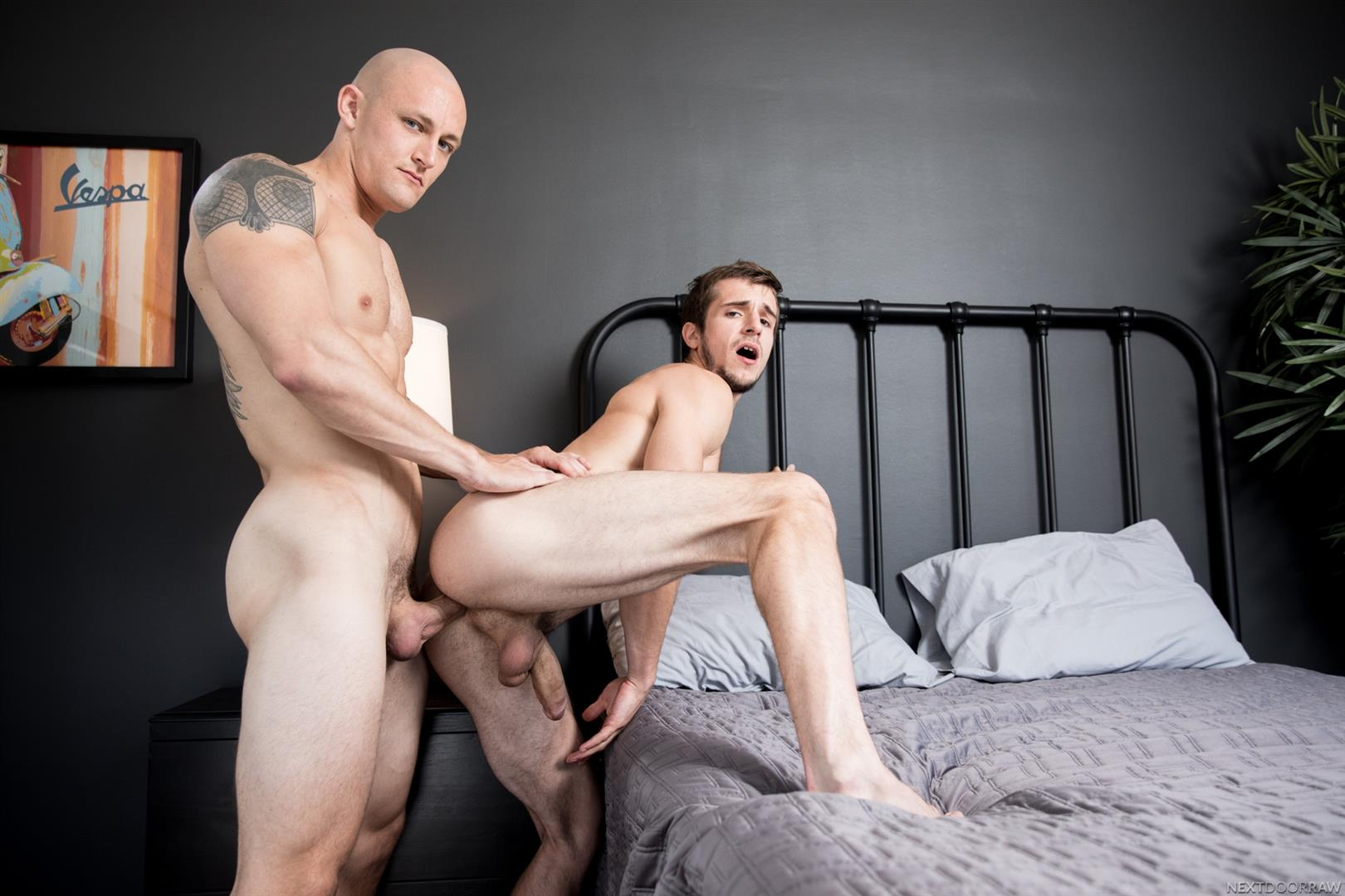 Next-Door-Raw-Trevor-Laster-and-Donte-Thick-Bareback-Free-Video-Download-03 Trevor Laster Gives His Roomate Donte Thick An Anal Creampie